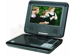 "Tecsonic 7"" Portable DVD player, Car adaptor, car mounting kit, remote control and carry case"